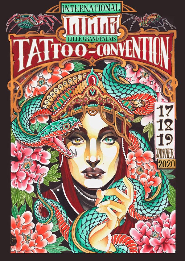 international-lille-tattoo-convention-tatouage-france-affiche-2020-Kbn Sensibilitey-Tatouages-ok-2