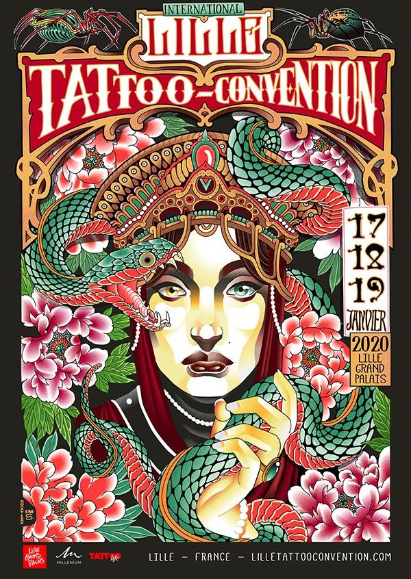 international-lille-tattoo-convention-tatouage-france-affiche-2020-Kbn Sensibilitey-Tatouages-ok-3