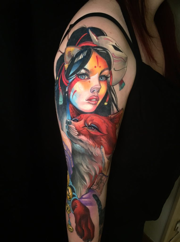 Jo Maddraft-createur-de l-affiche-Internationale-lille-Tattoo-convention 2020-6